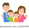 Family pointing 11854568