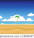 Tropical Beach 11868087