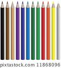 연필, 색조, 크레파스 11868096