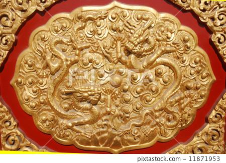 北京故宫里的门雕 11871953