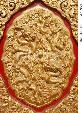 北京故宫里的门雕 11871954