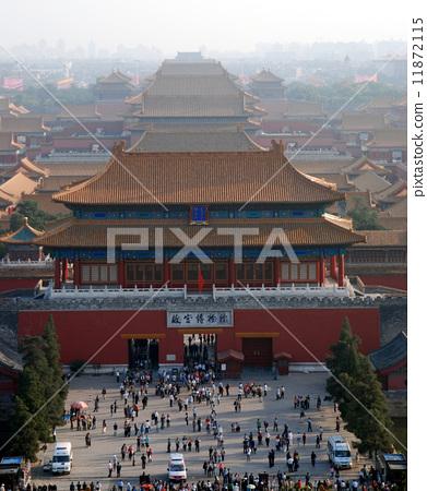 北京故宫博物院全景 11872115