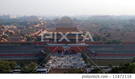 北京故宫博物院全景 11872116