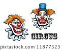 马戏团 小丑 快乐 11877323