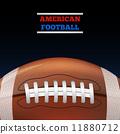 football, ball, isolated 11880712