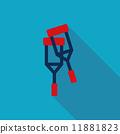 cane, aid, crutch 11881823