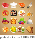 Food and Kitchen Accessories Icons Set1.1 11882399