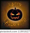 Happy Halloween Pumpkin 11901627