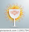 葡萄酒杯 葡萄酒 红酒 11901794