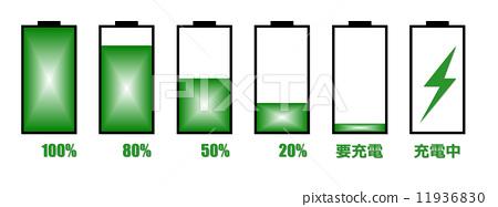電池充電標記 11936830