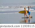 冲浪 冲浪者 海浪 11939115