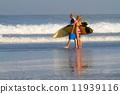 冲浪 冲浪者 海浪 11939116