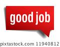 sticker, good, job 11940812