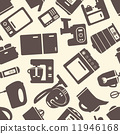 seamless pattern with electronic appliances 11946168