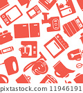 seamless pattern with electronic appliances 11946191