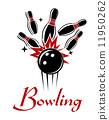 Bowling emblem or logo 11950262