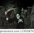 Halloween Grim Reaper 11950874