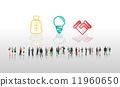 vector, handshake, idea 11960650