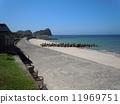 Kamane Beach (Shimane Prefecture Ota City) 11969751