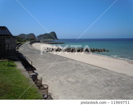 하네 해수욕장 (시마네 현 대전시) 11969751