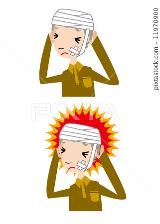 Headache, illness, medical, hospital, emergency, injury 11970900