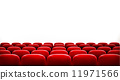 classical, theater, chair 11971566