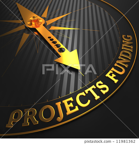 Projects Funding on Golden Compass Needle. 11981362