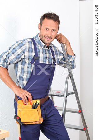 Stock Photo: Domestic emergency services