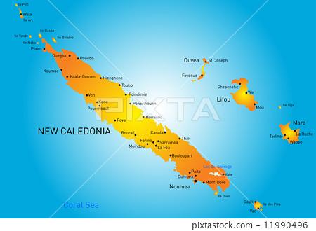 New Caledonia 11990496