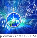 鐘錶 時鐘 圖表 11991156