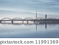 railway, bridge, latvia 11991369