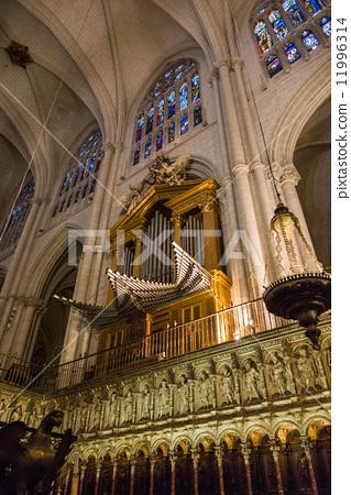 西班牙世界遺產托萊多大教堂管風琴 11996314