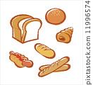 baguette, sweet, roll 11996574