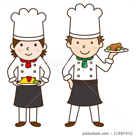 大厨 烹饪 主厨 11997432
