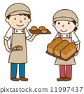 bakery, baker, vector 11997437
