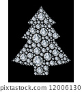 diamond tree background 12006130