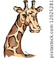 Giraffe Mascot 12025281