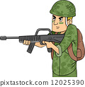 Machine Gun Soldier 12025390