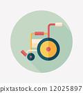 輪椅 輪子 車輪 12025897