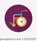 輪椅 輪子 車輪 12026387
