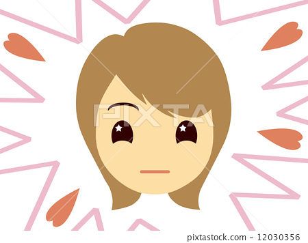 Motivated female face 12030356