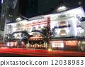歌舞伎劇場 夜景 夜晚 12038983