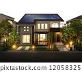 房屋 住宅的 房子 12058325