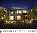 房屋 住宅的 房子 12058326