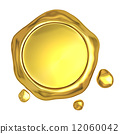 seal, wax, gold 12060042