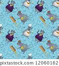 rat, vector, background 12060162