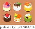 嬌小的蛋糕 12064016