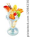 凍糕 水果冷甜點 甜品 12064236