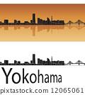 Yokohama skyline 12065061