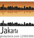 Jakarta skyline 12065066